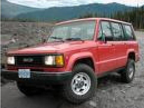 1990 Isuzu Trooper Parts Cars in 1 Blue, 1 Red