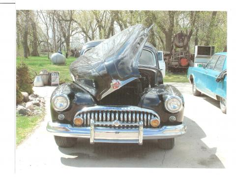 1948 Buick Roadmaster 4 Door in Black