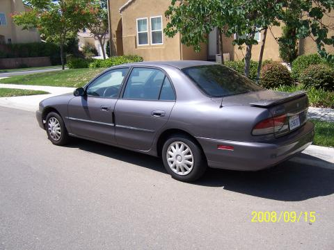 1997 Mitsubishi Galant DE in  Monarch Green Pearl Metallic