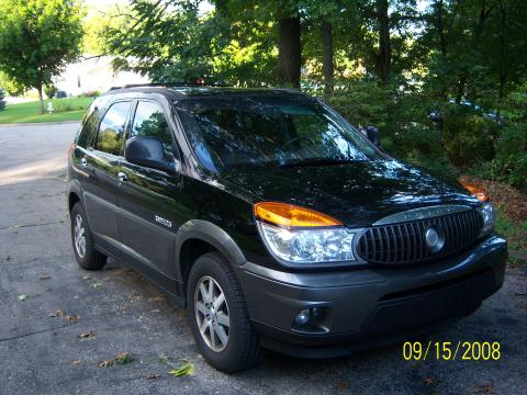 2002 Buick Rendezvous CX in Black