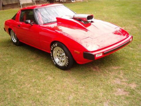 1979 Mazda RX7 Race Car in Dodge Viper Red