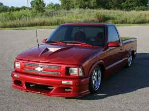 1994 Chevrolet S10  in Custom Metallic Red