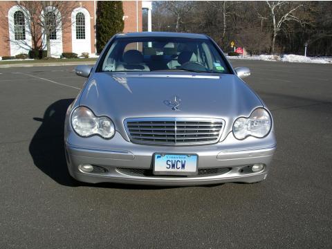 2003 Mercedes-Benz C 240 Sedan in Brilliant Silver Metallic
