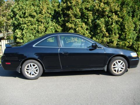 2002 Honda Accord EX Coupe in Nighthawk Black Pearl