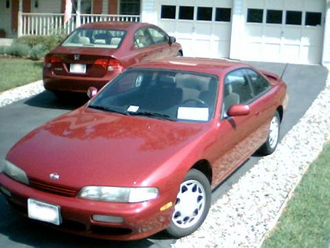 1995 Nissan 240SX Coupe in Ruby Red Pearl