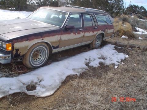1986 Chevrolet Caprice Estate Wagon