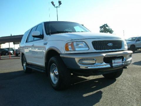 1997 Ford Expedition XLT in Oxford White