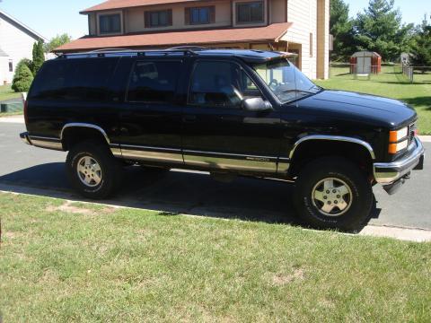 1996 GMC Suburban SLT in Onyx Black
