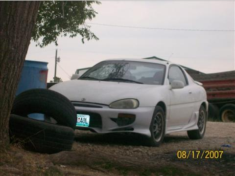 1993 Mazda MX-3  in White