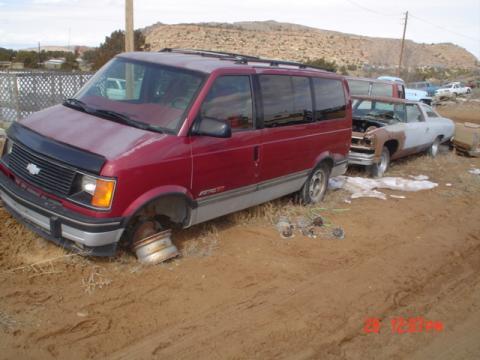 1994 Chevrolet Astro CL EXT Passenger Van in Dark Garnet Red Metallic
