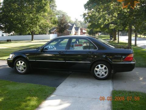 2002 Acura RL 3.5 Sedan in Nighthawk Black