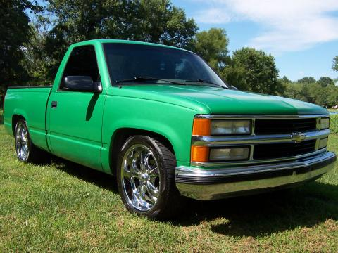 1995 Chevrolet C/K C1500 Regular Cab in Green