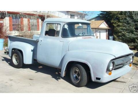 1956 Ford F100 Stepside in Primer (Gray)