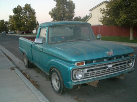 1965 Ford F100  in Blue