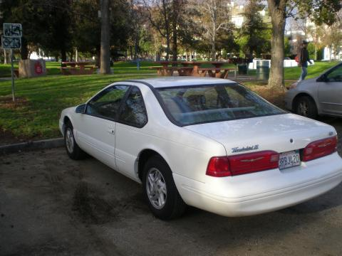 1996 Ford Thunderbird LX in White