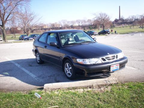 2000 Saab 9-3 Coupe in Black