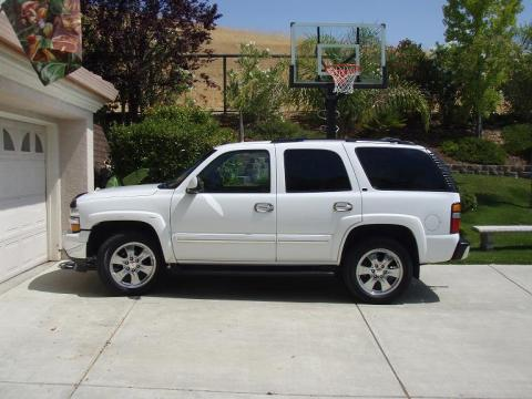 2005 Chevrolet Tahoe LT in Summit White