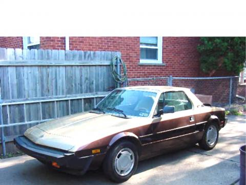 1986 Bertone X1/9  in Dark Brown/Gold