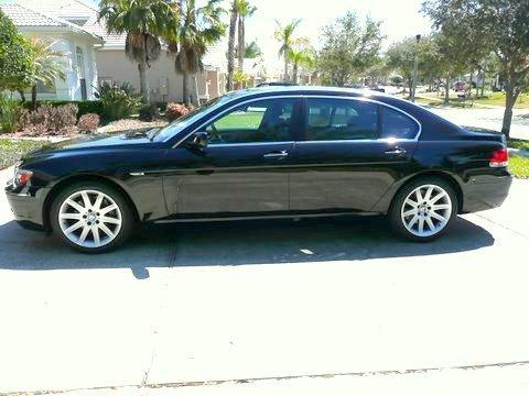 2006 BMW 7 Series 750Li Sedan in Jet Black