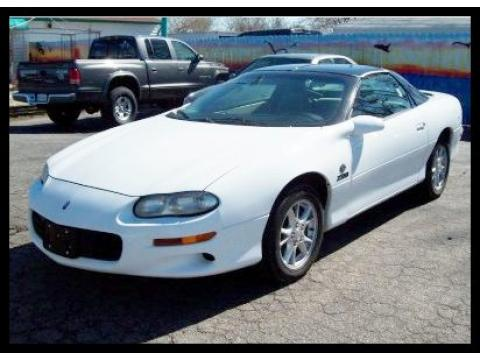 2000 Chevrolet Camaro Z28 Coupe in Arctic White