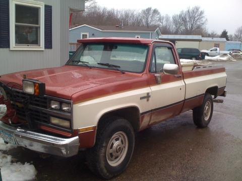 1986 Chevrolet C/K K20 Scottsdale 4x4 in Copper/Tan