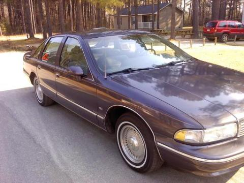 1993 Chevrolet Caprice LS Sedan in Plum