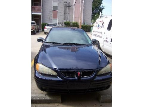 2001 Pontiac Grand Am SE Sedan in Navy Blue