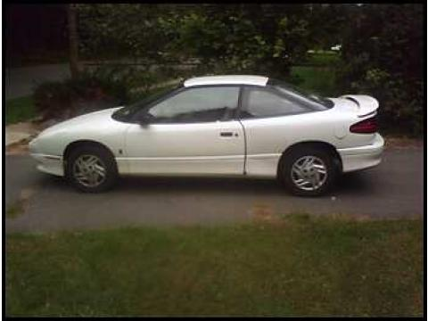 1995 Saturn SC1  in White