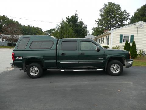 2004 Chevrolet Silverado 2500HD 4X4 in Dark Green Metallic