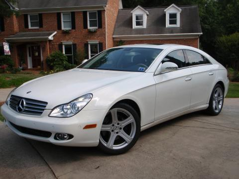 2006 Mercedes-Benz CLS 500 in Alabaster White