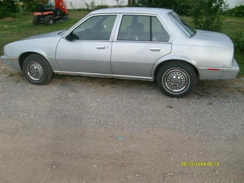 1987 Chevrolet Cavalier  in Grey