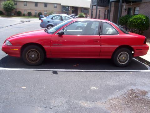 1995 Pontiac Grand Am  in Bright Red