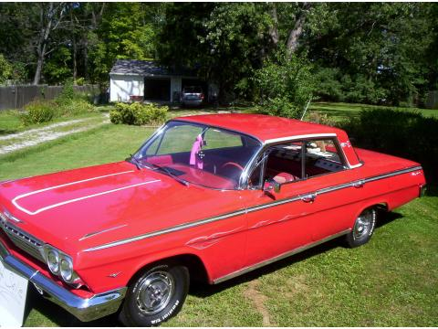 1962 Chevrolet Impala  in Red