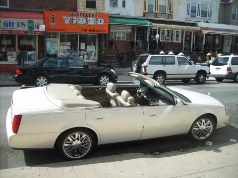 2004 Cadillac DeVille Custom Convertible in White Diamond