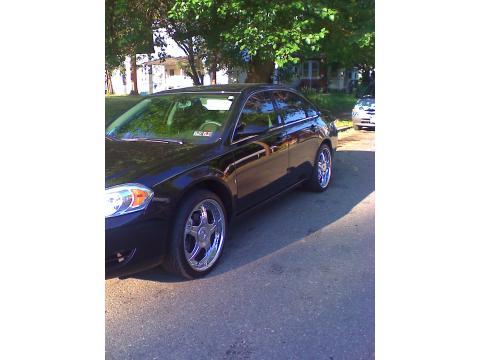 2008 Chevrolet Impala LT Custom in Black