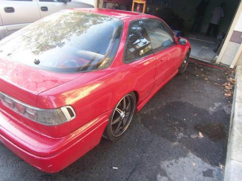 1992 Acura Integra GS Coupe in Milano Red