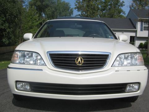 1999 Acura RL 3.5 Sedan in Pearl White
