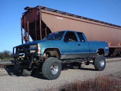1997 Chevrolet Silverado 1500 in Aqua Teal Metallic
