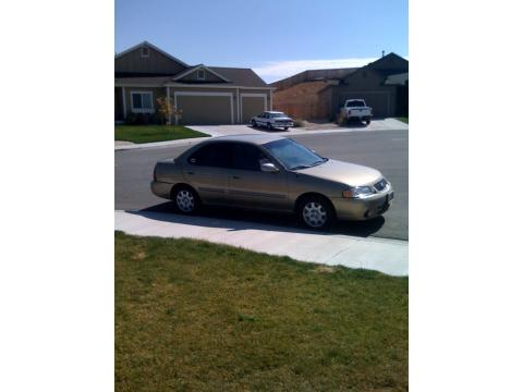 2002 Nissan Sentra GXE in Iced Cappuccino