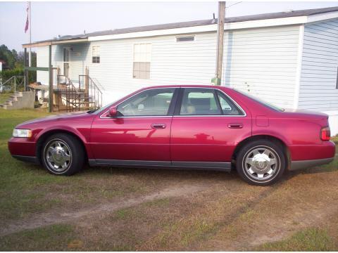 1999 Cadillac Seville SLS in Crimson Pearl