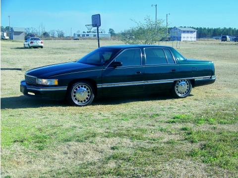 1996 Cadillac DeVille Sedan in Polo Green Metallic