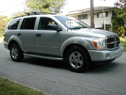 2004 Dodge Durango Limited 4x4 in Brilliant Silver Metallic