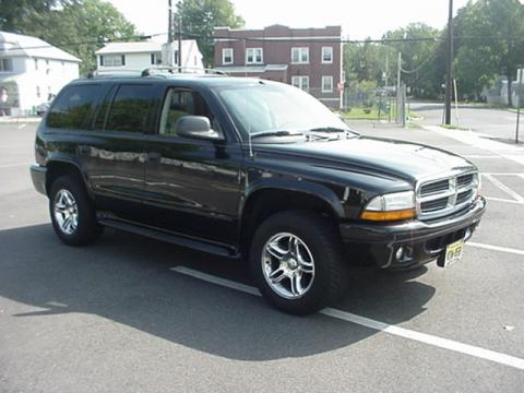 2003 Dodge Durango R/T 4x4 in Black