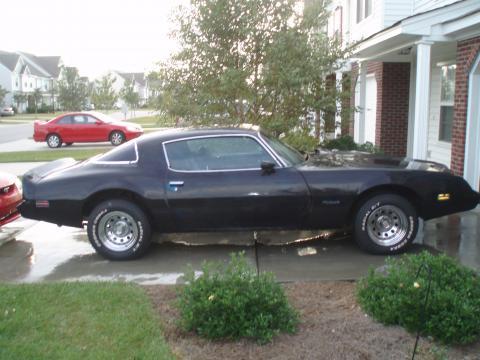 1980 Pontiac Firebird  in Primer Black