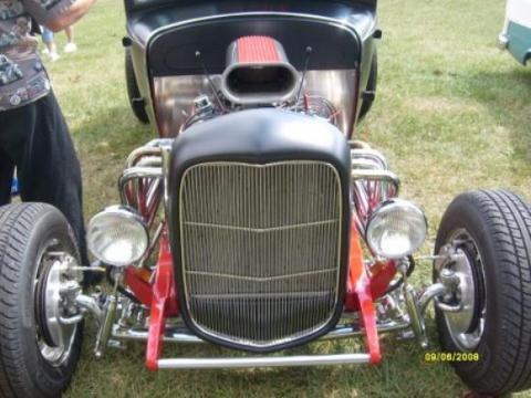 1930 Ford Model A Tudor Sedan in Black