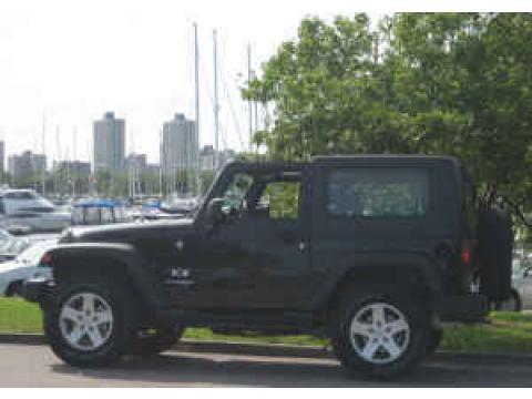 2007 Jeep Wrangler X 4x4 in Black