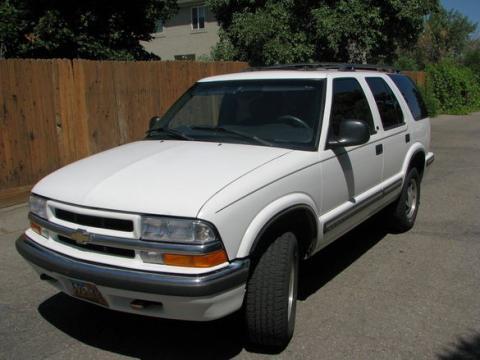 1998 Chevrolet Blazer LT 4x4 in Summit White