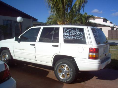 1996 Jeep Grand Cherokee Limited 4x4 in Stone White