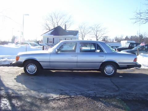 1977 Mercedes-Benz S Class 450 SEL in Astro Silver Metalic