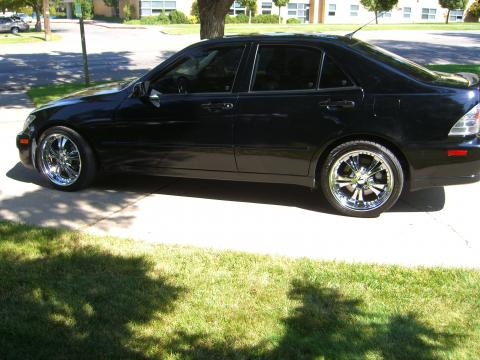 2005 Lexus IS 300 in Black Onyx